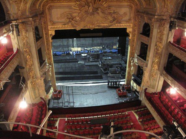 Salle de spectacle opéra de Lille