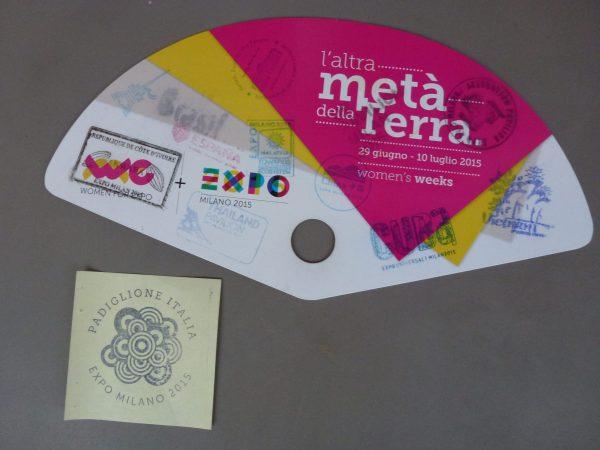 Expo Milano 2015 Eventail Officiel
