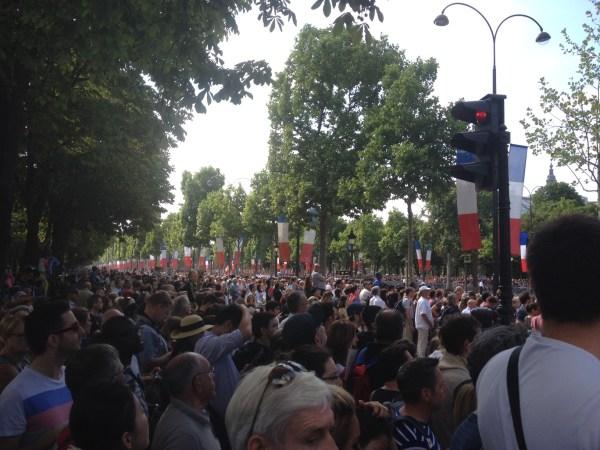 Champs Elysées défilé 14 juillet