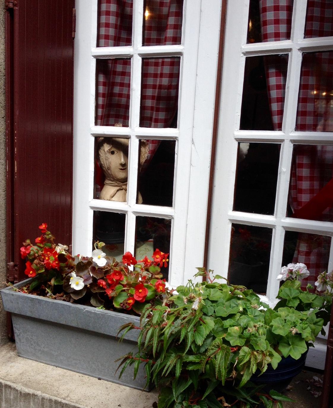 Fenêtre sur Honfleur