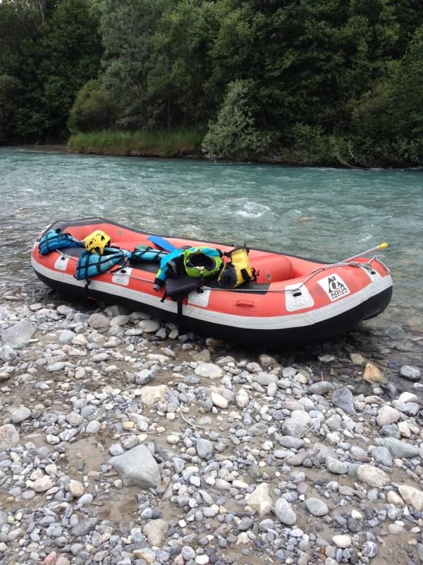 Rafting massif des écrins