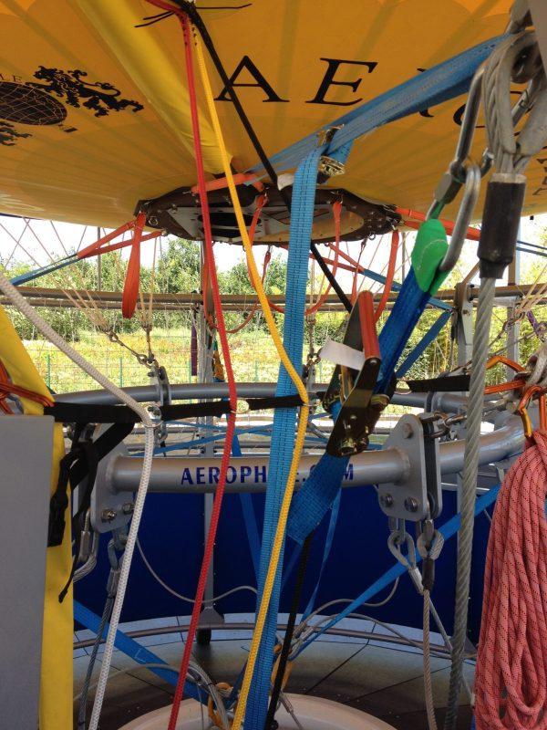 Intérieur ballon Terra Botanica
