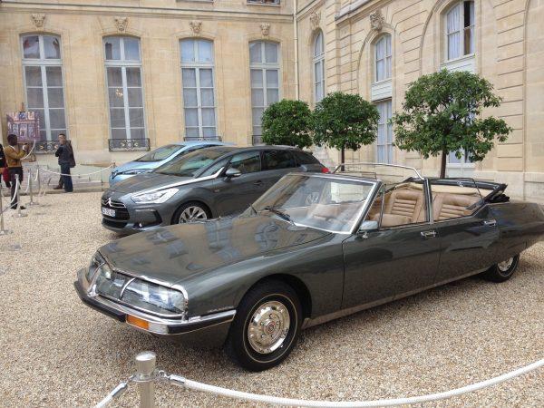 Collection de voitures présidentielles journées du patrimoine
