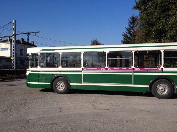 Ancien bus RATP