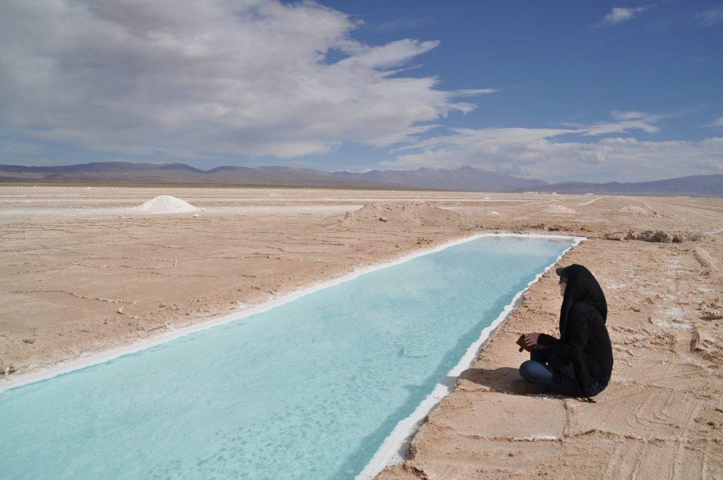 Salinas Nord de l'Argentine