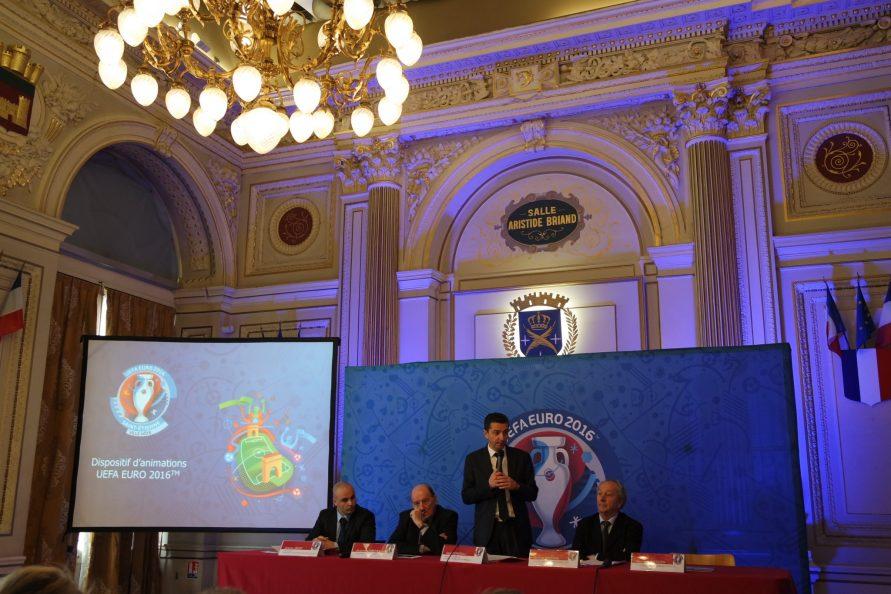 Conférence de presse Euro 2016