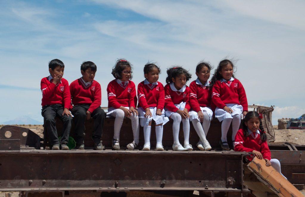 Cimetière de train Bolivie