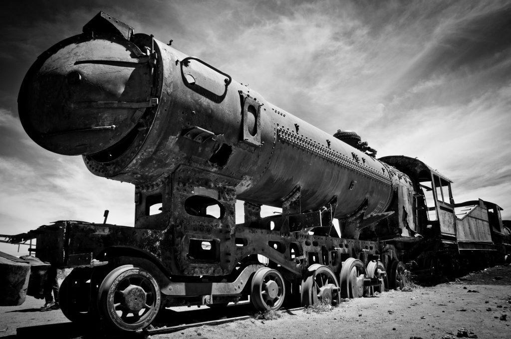 Cimetière de trains Uyuni Bolivie