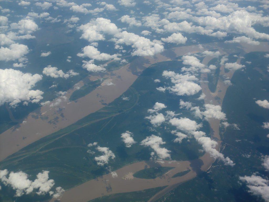 Amazonie vue du ciel