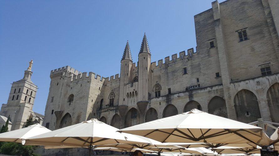 Palais des Papes Avignon 2016