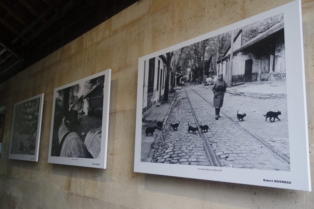 Exposition Bercy Village Robert Doisneau