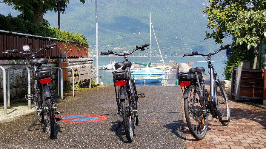 Vélo Aix les Bains