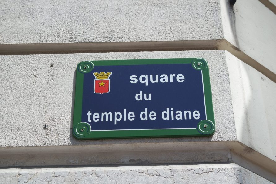 square du temple de Diane