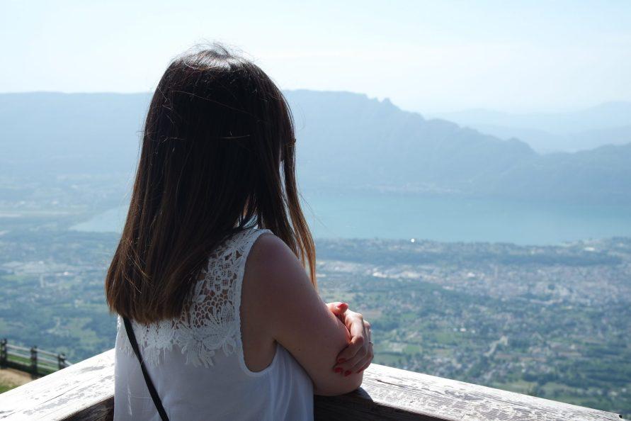 Vue lac du Bourget