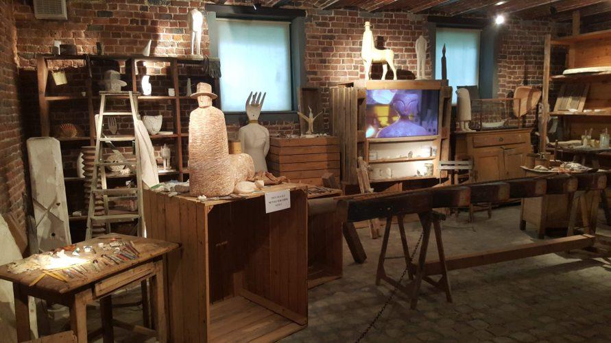 Fondation Folon atelier