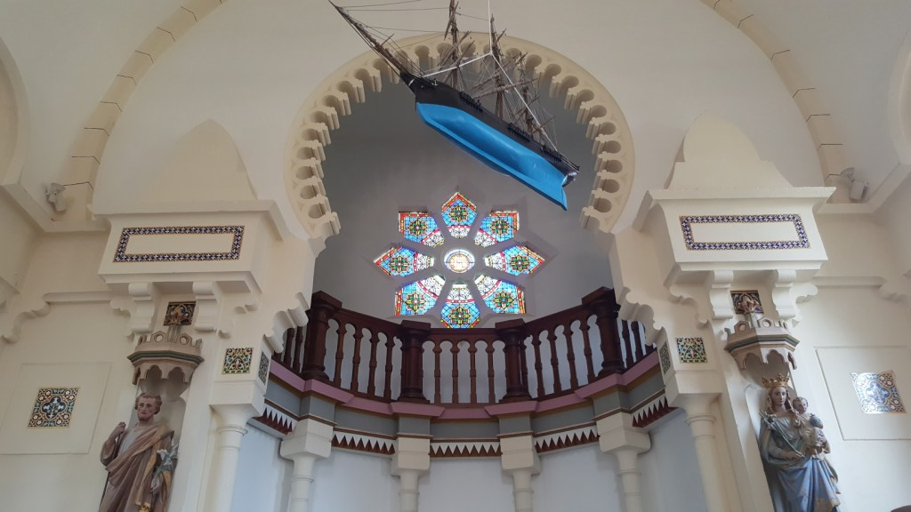 Bassin d'Arcachon chapelle algérienne