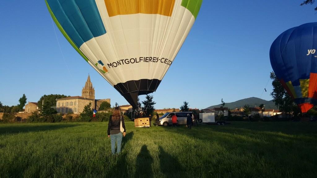 Activités insolites Ardèche montgolfière