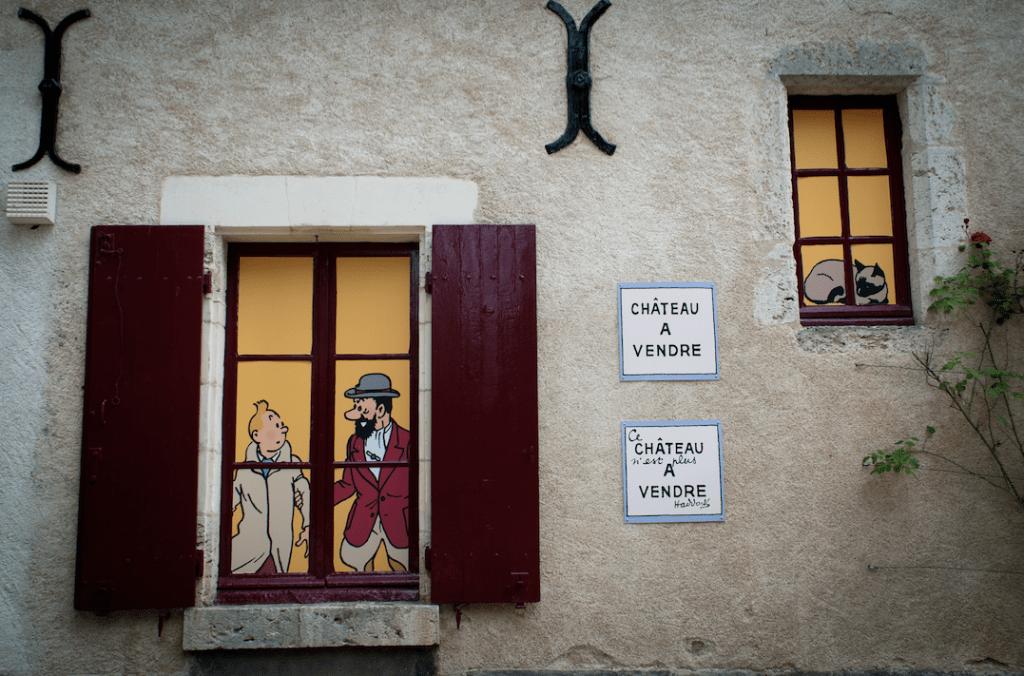 Exposition Tintin Château de Cheverny