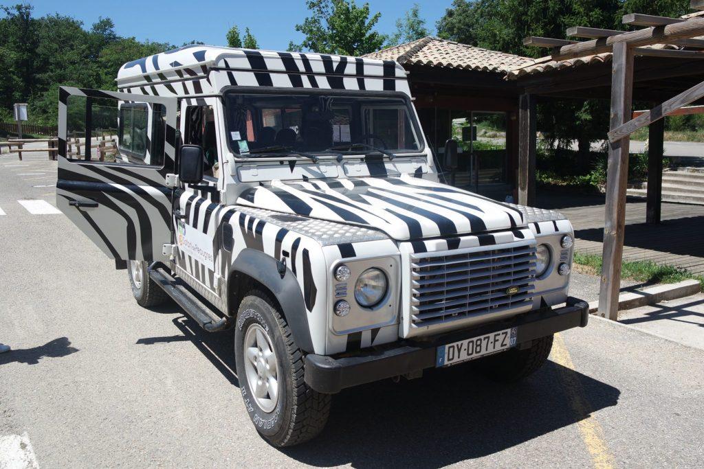 Activités insolites d'Ardèche safari de peaugres
