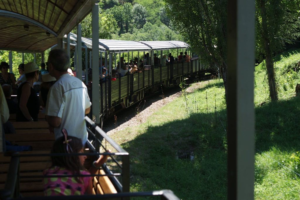 Activités insolites Ardèche petit train à vapeur