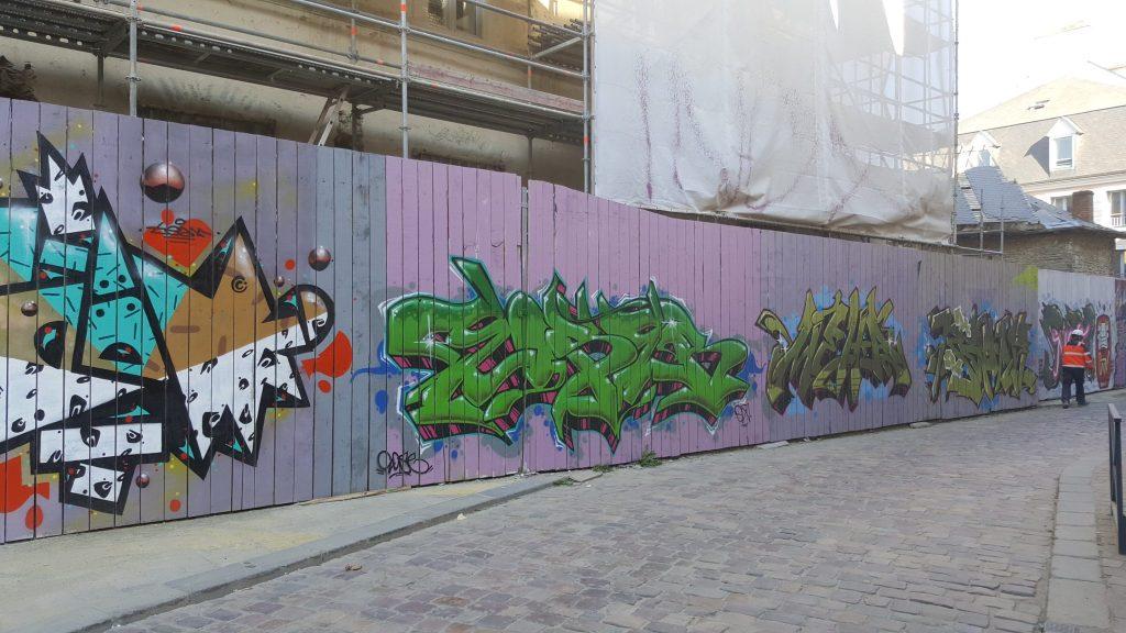 Balade Rennes street art
