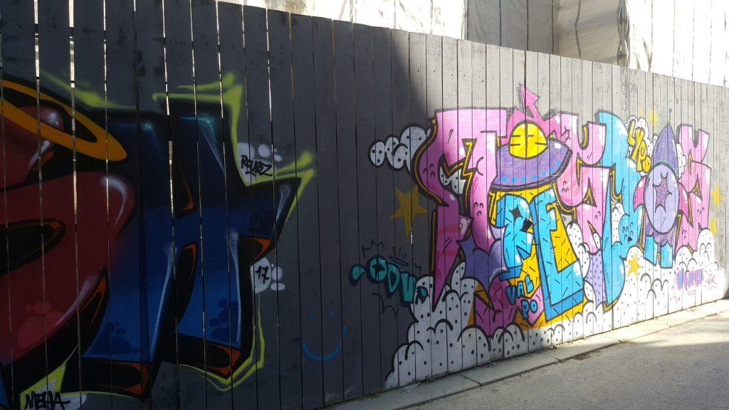 Visite Rennes street art