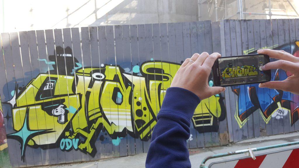 Visite insolite Rennes street art