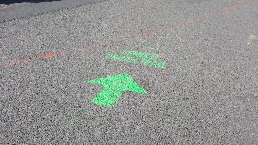Rennes urban trail street art