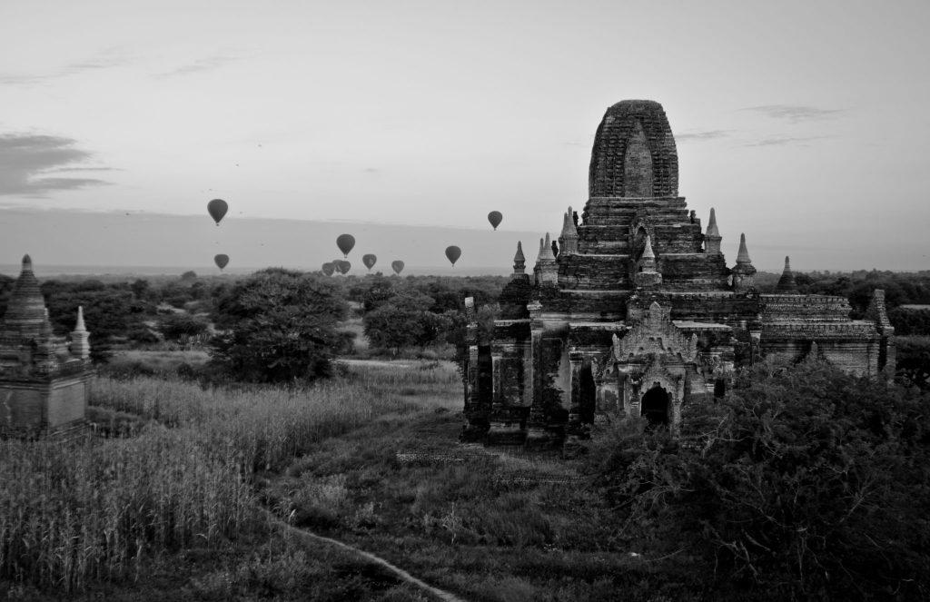 Montgolfière Bagan