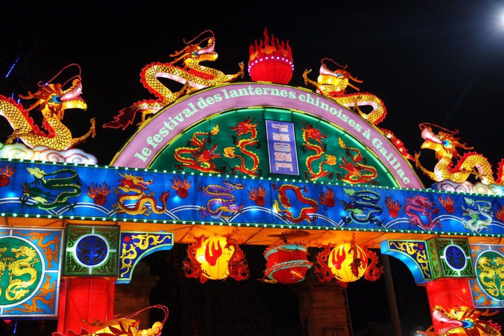 Festival des lanternes chinoises de Gaillac
