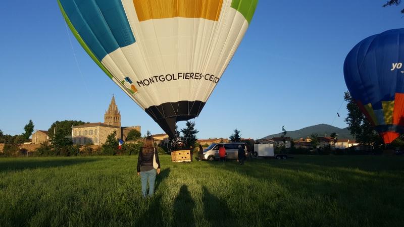 Solcito montgolfière Ardèche