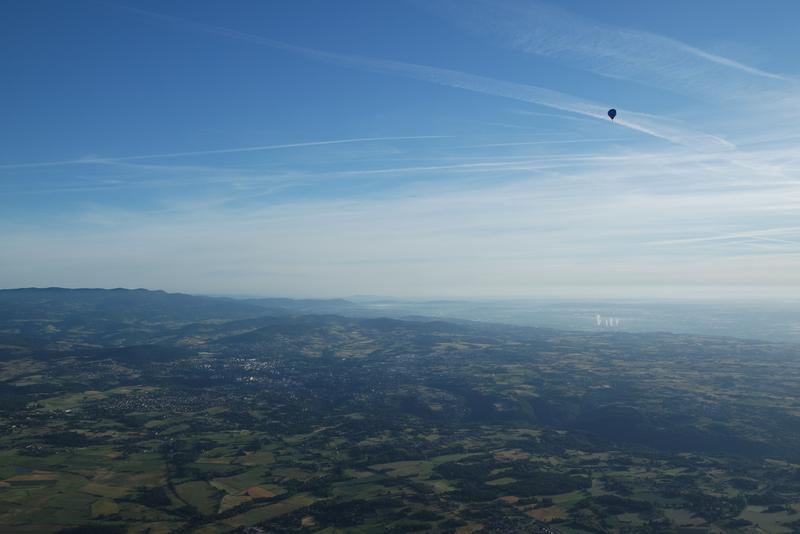 Baptême montgolfière Ardèche