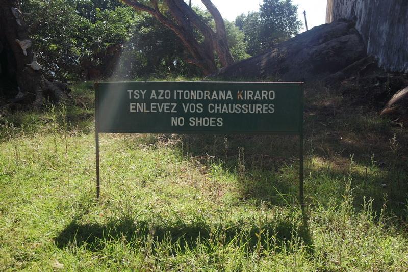 Colline sacré d'Ambohimanga Tana