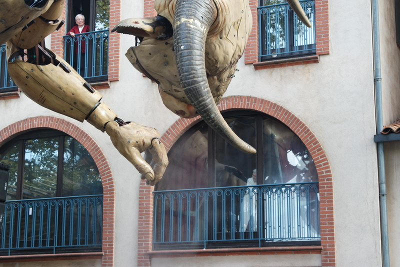 Opéra urbain Machines Toulouse