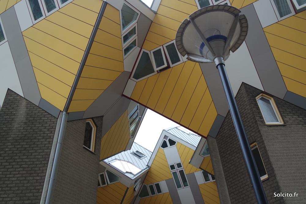 Maisons jaunes Rotterdam