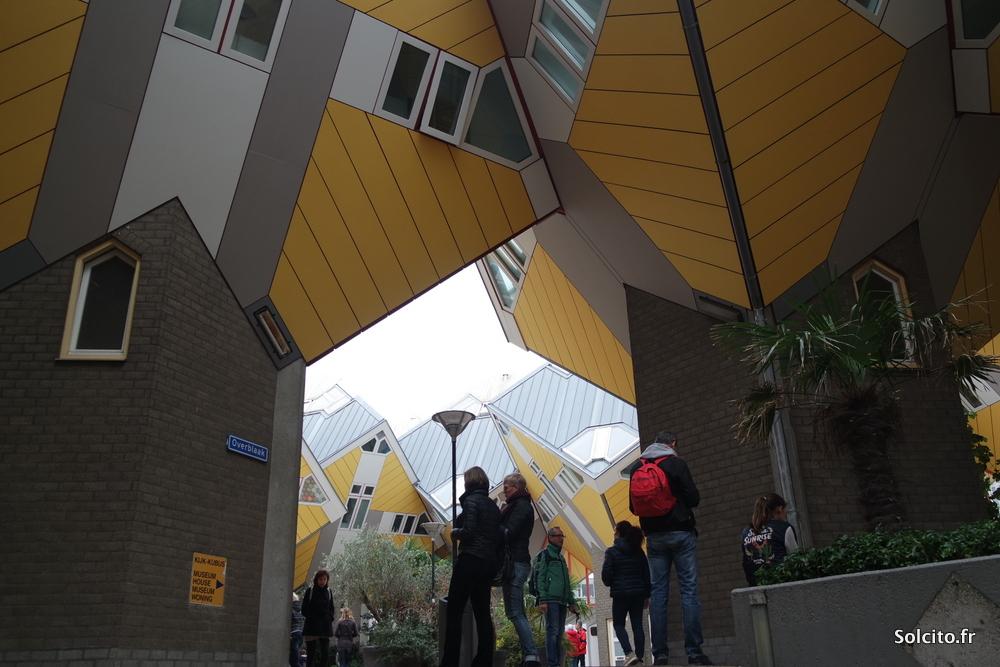 Maison cubiques Rotterdam Piet Blom
