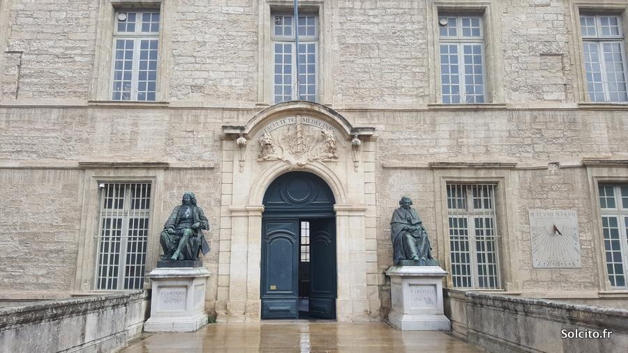 Visiter Fac de médecine Montpellier