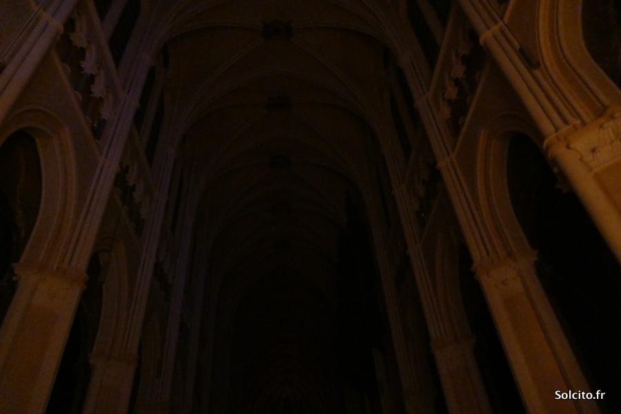 Notre Dame de Chartres de nuit