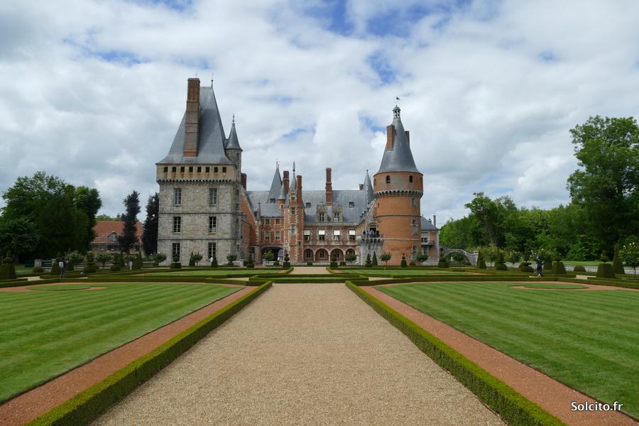 Jardins du chateau de Maintenon
