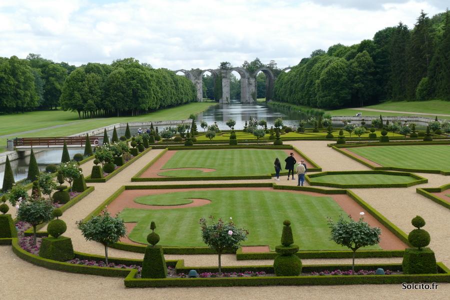Jardins à la française de Maintenon
