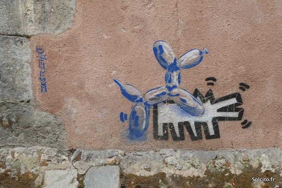 art urbain à Chartres