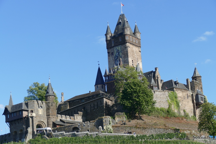 Chateau de Cochem Rhenanie-Palatinat