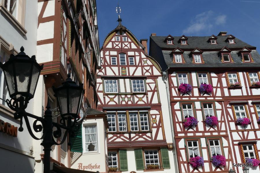 Maisons à colombage Rhenanie-Palatinat