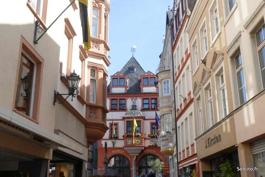 Promenade Traben-Trarbach Rhenanie-Palatinat