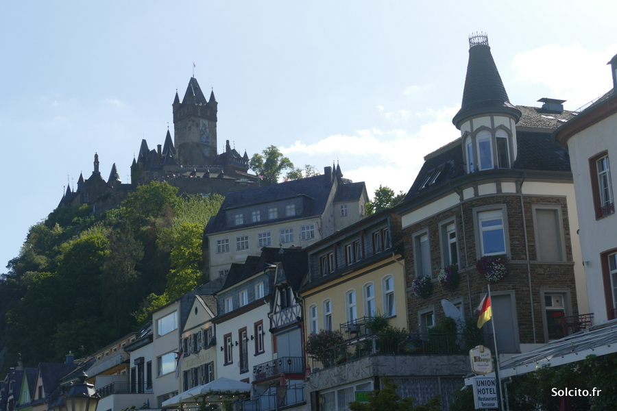 Rue Cochem Rhenanie-Palatinat