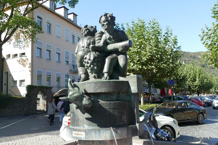 Statue Cochem Rhénanie-Palatinat