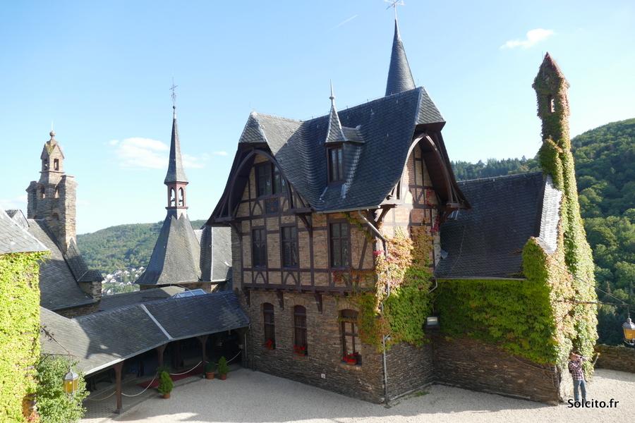 Visite chateau Cochem Rhénanie-Palatinat