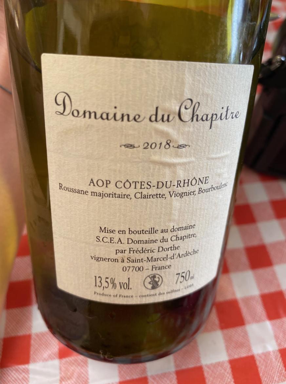 Domaine viticole ardèche déjeuner insolite