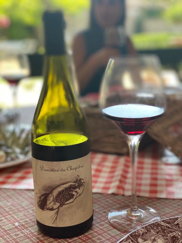 Domaine viticole insolite ardèche