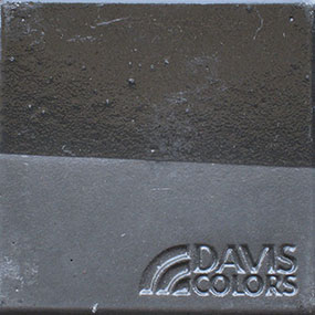 dark gray color chip